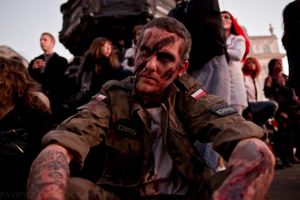 Podczas Światowego Dnia Zombie w Londynie dało się spotkać także ludzi z Polski.