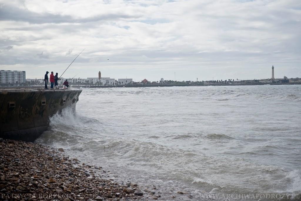 Zwykły dzień i zwykły widok. Rybacy, którzy wybrali się na połów.