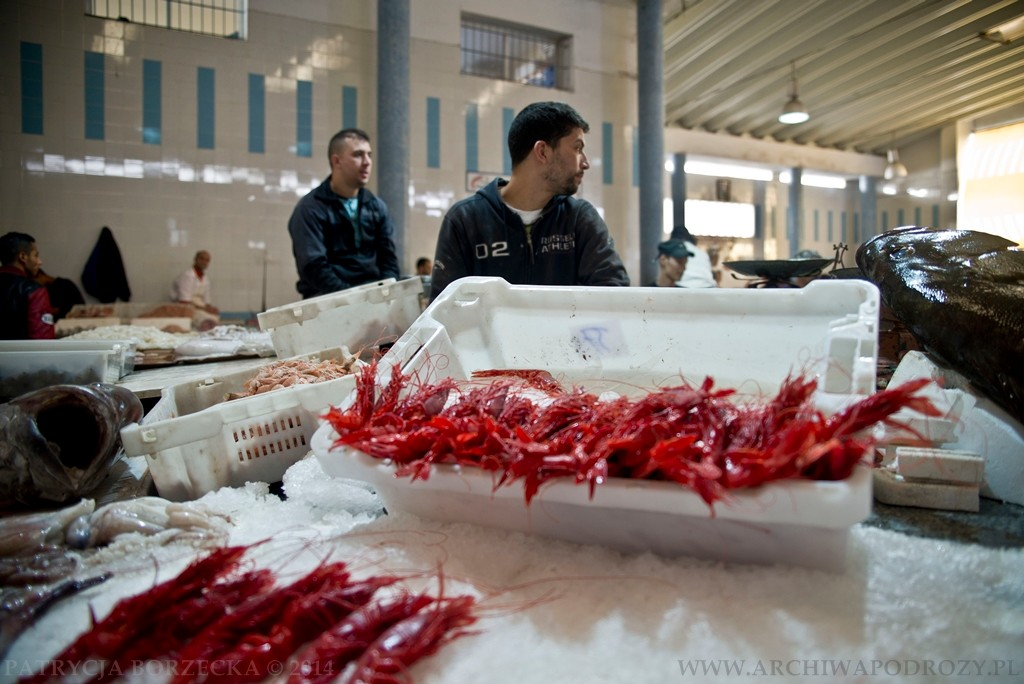 Targ rybny to bardzo popularne i osobliwe miejsce.